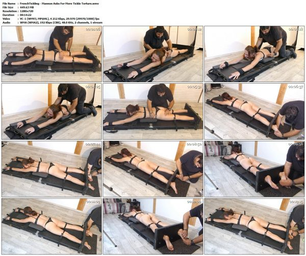 FrenchTickling - Mannon Asks For More Tickle TortureFrenchTickling VIP Clips