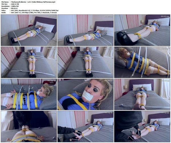 TheDamselCollector - Let's Tickle Whitney Full VersionTheDamselCollector VIP Clips