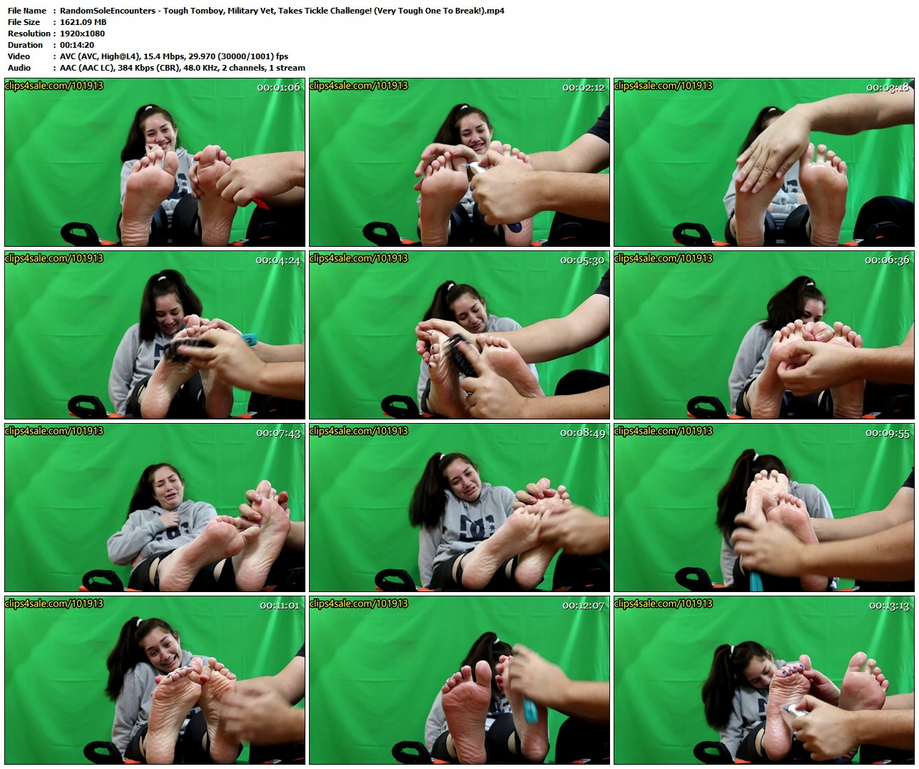 4 tickling videos at the same time mia edition 3