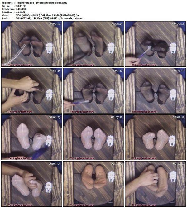 TicklingParadise - Intense stocking tickle!TicklingParadise
