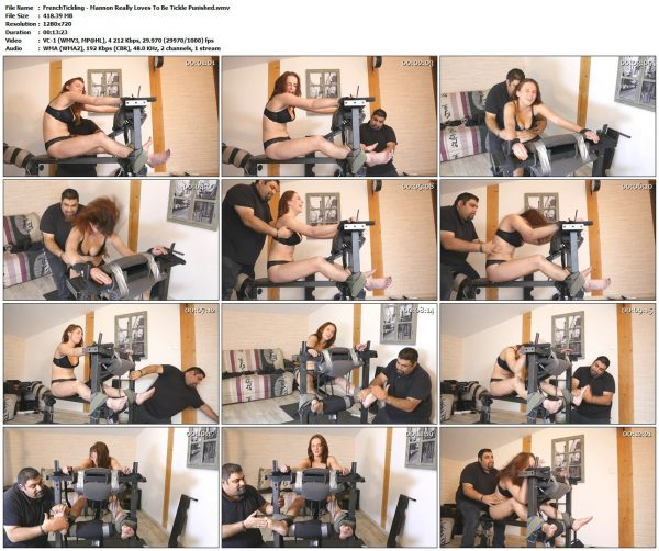 FrenchTickling - Mannon Really Loves To Be Tickle PunishedFrenchTickling VIP Clips