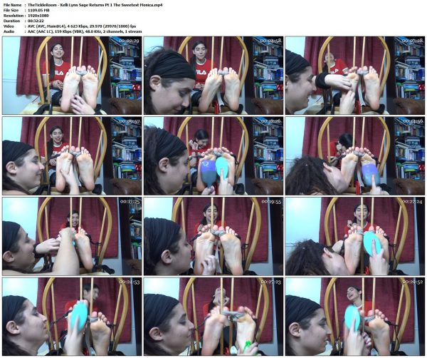 "TheTickleRoom - Kelli Lynn Sage Returns Pt 1 ""The Sweetest Monica""TheTickleRoom VIP Clips"