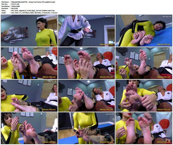 MikaylaMilesAndFTKL - Kung-Foot Game Of Laughter!MikaylaMilesAndFTKL VIP Clips