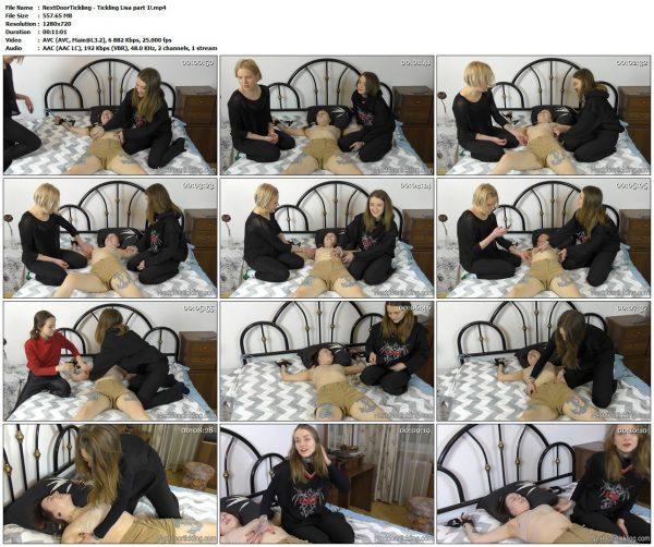 NextDoorTickling - Tickling Lisa part 1!NextDoorTickling VIP Clips