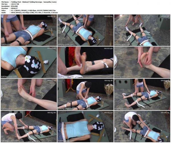 Tickling-Post - Walmart Tickling Revenge - Samantha 3Tickling-Post