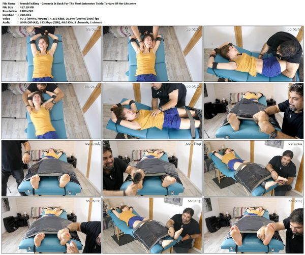FrenchTickling - Gwenola Is Back For The Most Intensive Tickle Torture Of Her LifeFrenchTickling VIP Clips