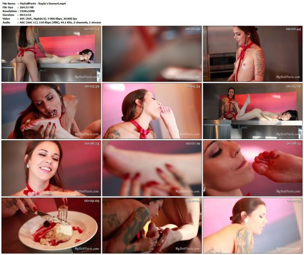 SilverCherry - Bound Naked and Tickle TorturedSilverCherry VIP Clips