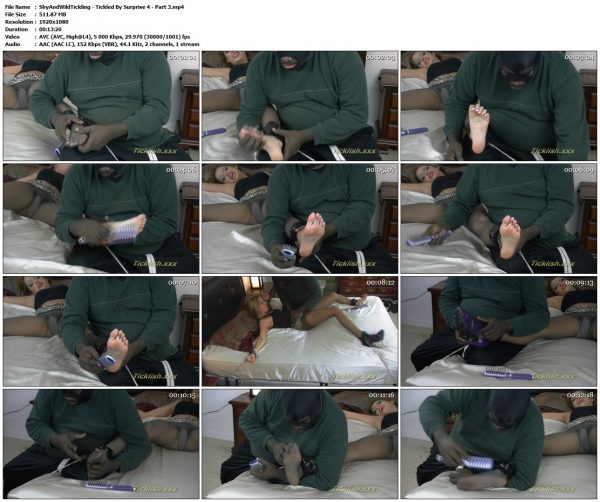 ShyAndWildTickling - Tickled By Surprise 4 - Part 3ShyAndWildTickling