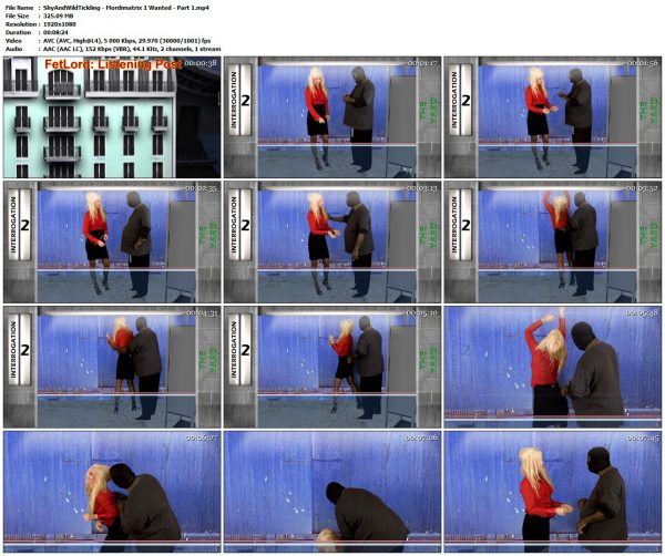 ShyAndWildTickling - Mordimatrix 1 Wanted - Part 1ShyAndWildTickling