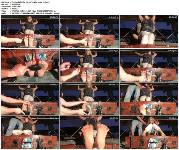 TheStocksStudio - Aimee's nylon tickle pt.2TheStocksStudio VIP Clips