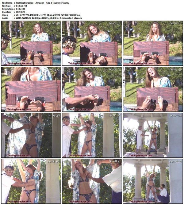 TicklingParadise - Amazon - Clip 3 (Summer)TicklingParadise