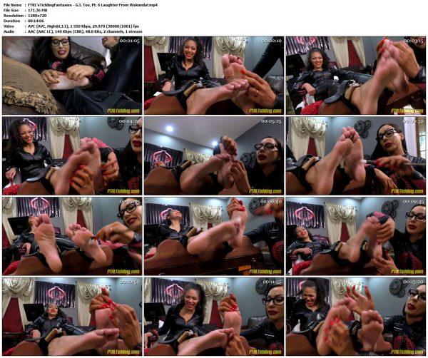 FTKL'sTicklingFantasies - G.I. Toe, Pt. 6 Laughter From Wakanda!FTKL'sTicklingFantasies