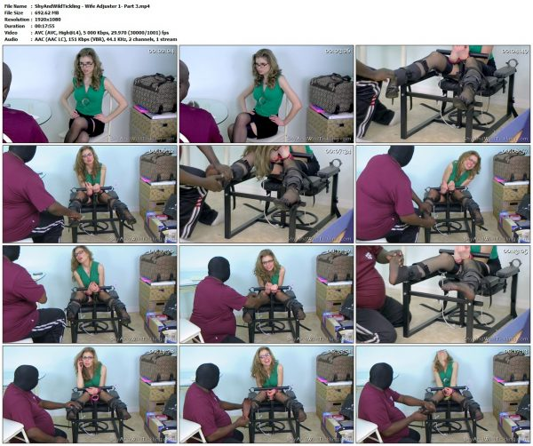 ShyAndWildTickling - Wife Adjuster 1 - Part 3ShyAndWildTickling