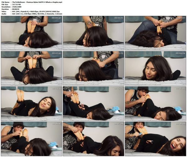 """TheTickleRoom - Monicas Nylon Hell Pt 4 """"Whats a Hogtie?""""TheTickleRoom VIP Clips"""