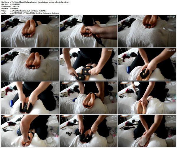 TheTicklishFeetOfSakuraKoneko - Her oiled and heated soles torturedTheTicklishFeetOfSakuraKoneko