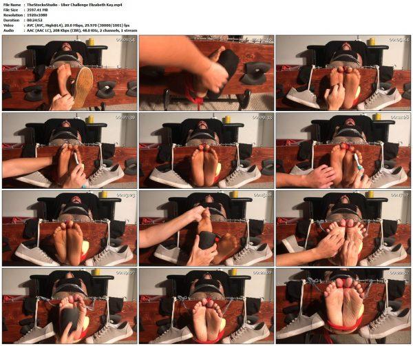 TheStocksStudio - Uber Challenge Elizabeth KayTheStocksStudio VIP Clips
