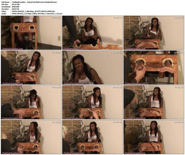TicklingParadise - School Girl Beth Gets Punished!!TicklingParadise