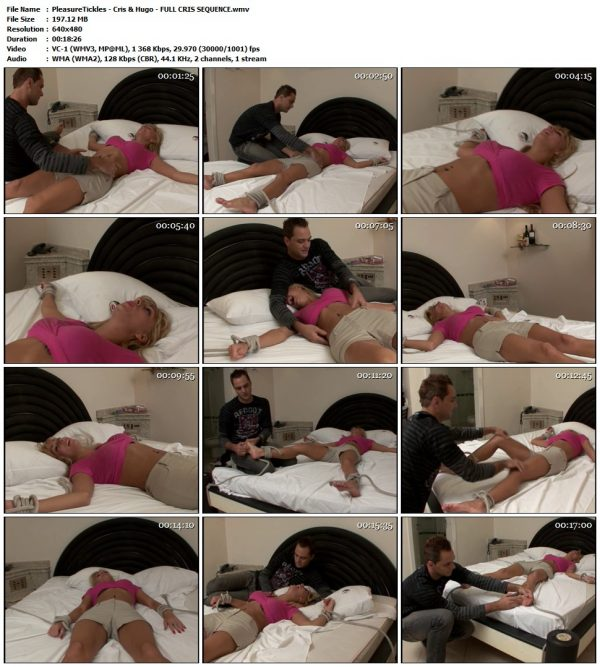 PleasureTickles - Cris & Hugo - FULL CRIS SEQUENCEPleasureTickles