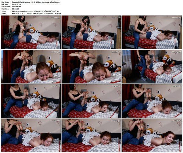 RussianGirlsInDistress - First tickling for Ann in a hogtieRussianGirlsInDistress VIP Clips