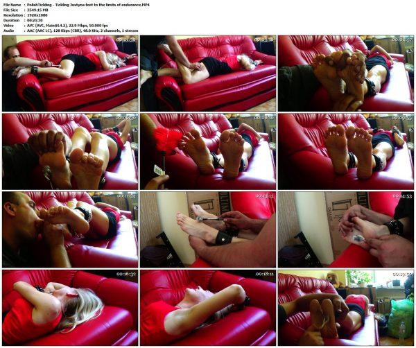 PolishTickling - Tickling Justyna feet to the limits of enduranceUncategorized VIP Clips