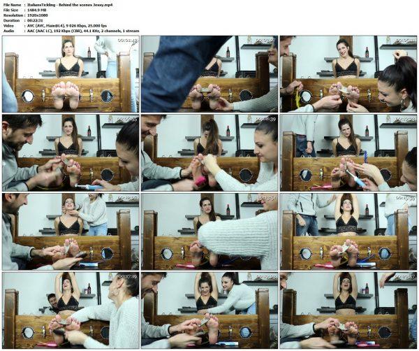 ItaliansTickling - Behind the scenes JessyItaliansTickling VIP Clips