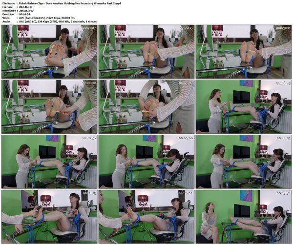 PolishMistressClips - Boss Karolina Mobbing Her Secretary Weronika Part 2PolishMistressClips VIP Clips