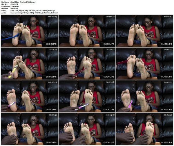 L.I.O.Clips - Trin Foot TickleL.I.O.Clips