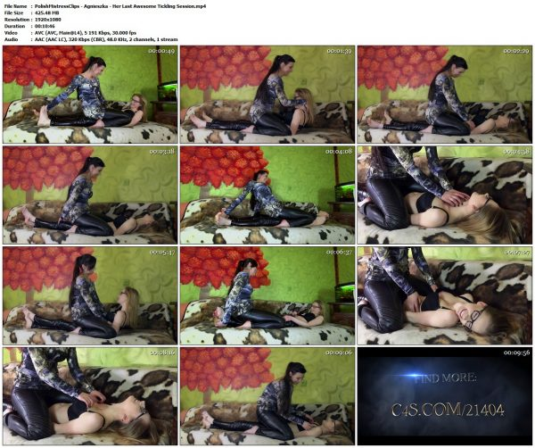 PolishMistressClips - Agnieszka - Her Last Awesome Tickling SessionPolishMistressClips VIP Clips