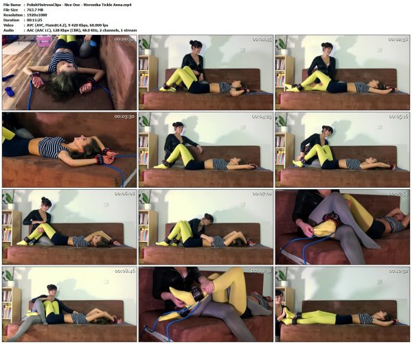 PolishMistressClips - Nice One - Weronika Tickle AnnaPolishMistressClips VIP Clips
