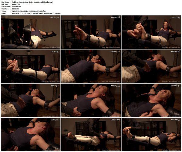 Tickling-Submission - Extra ticklish milf MonikaTickling VIP Clips