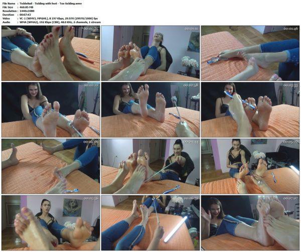 TickleNail - Tickling with feet - Toe ticklingTickleNail VIP Clips