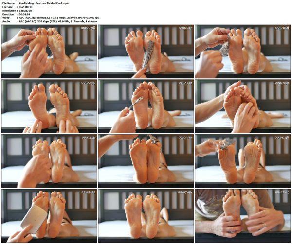 ZenTickling - Feather Tickled FeetVIP Clips ZenTickling