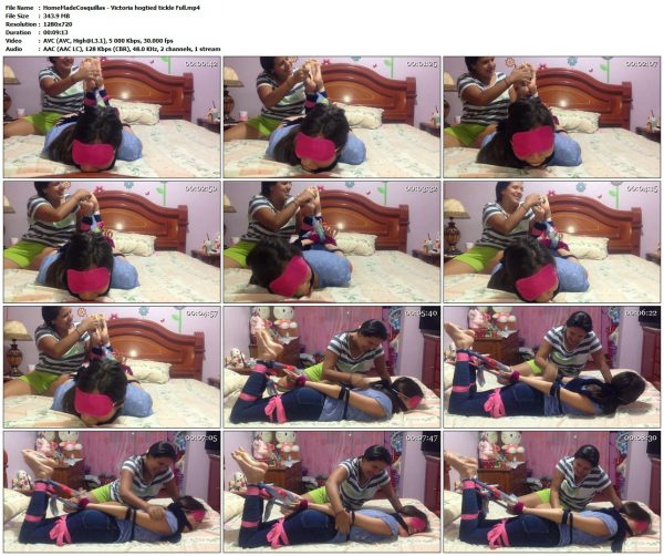 HomeMadeCosquillas - Victoria hogtied tickle FullHomeMadeCosquillas VIP Clips