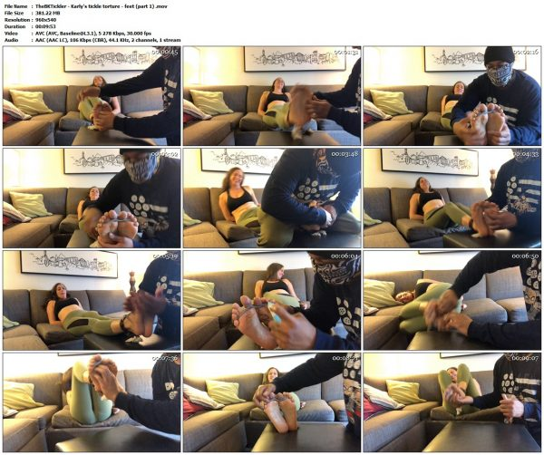 TheBKTickler - Karly's tickle torture - feet (part 1)TheBKTickler VIP Clips