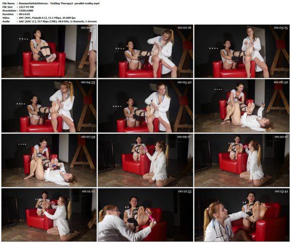 RussianGirlsInDistress - Tickling Therapy2- parallel realityRussianGirlsInDistress VIP Clips