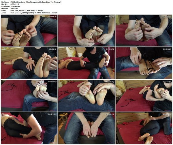 TicklishIntentions - Miss Marzipan Ankle Bound And Toe-TiedTicklishIntentions VIP Clips