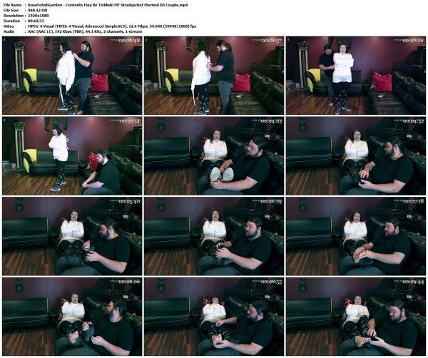 RoseFetishGarden - Contents May Be Ticklish! MF Straitjacket Married DS CoupleRoseFetishGarden VIP Clips