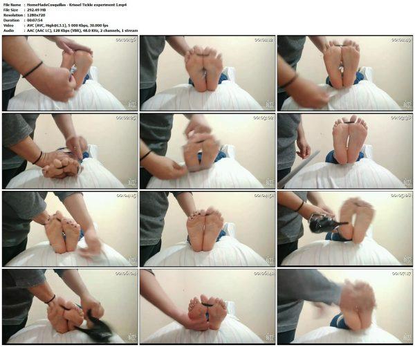 HomeMadeCosquillas - Krissel Tickle experiment IHomeMadeCosquillas