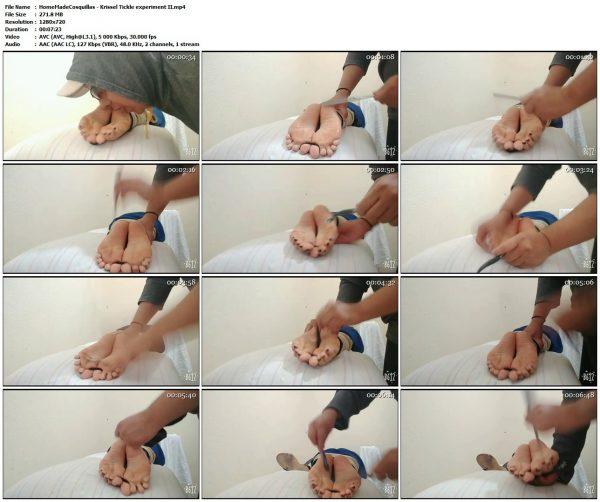 HomeMadeCosquillas - Krissel Tickle experiment IIHomeMadeCosquillas