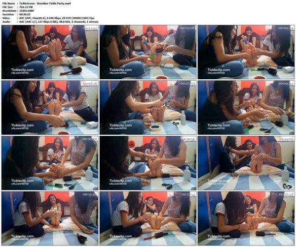 TickleScene - Brazilian Tickle PartyTickleScene VIP Clips
