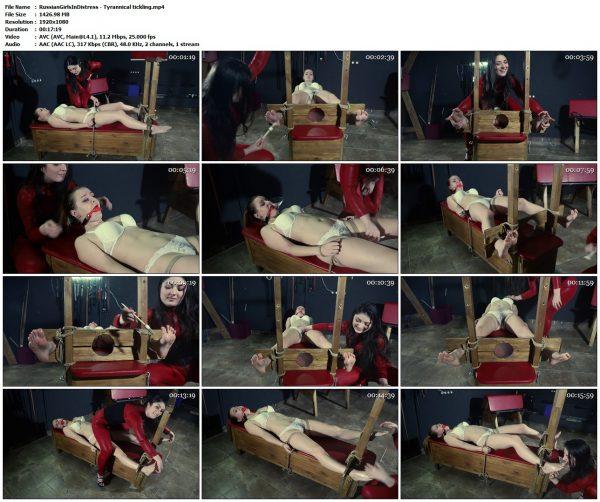 RussianGirlsInDistress - Tyrannical ticklingRussianGirlsInDistress VIP Clips