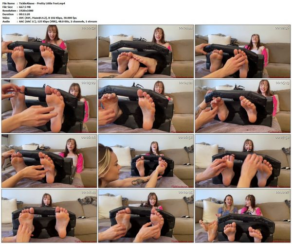 TickleAbuse - Pretty Little FeetTickleAbuse VIP Clips