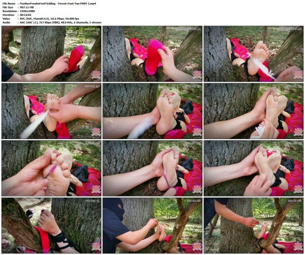 FeatherFreaksFootTickling - Forest-Foot-Fun PART IFeatherFreaksFootTickling VIP Clips