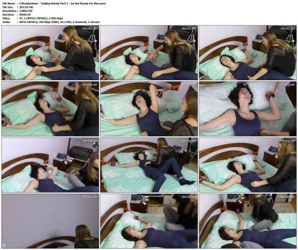 LSProductions - Tickling Netaly Part 1 - Im Not Ready For thisLSProductions