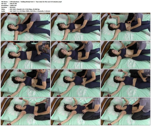 LSProductions - Tickling Netaly Part 3 - Your mine for the next 10 minutesLSProductions