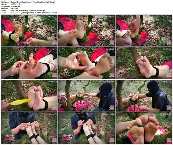 FeatherFreaksFootTickling - Forest-Foot-Fun PART IIFeatherFreaksFootTickling VIP Clips