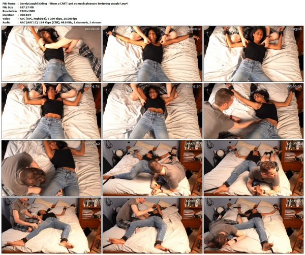 LovelyLaughTickling - Wiam u CAN'T get as much pleasure torturing people !LovelyLaughTickling VIP Clips