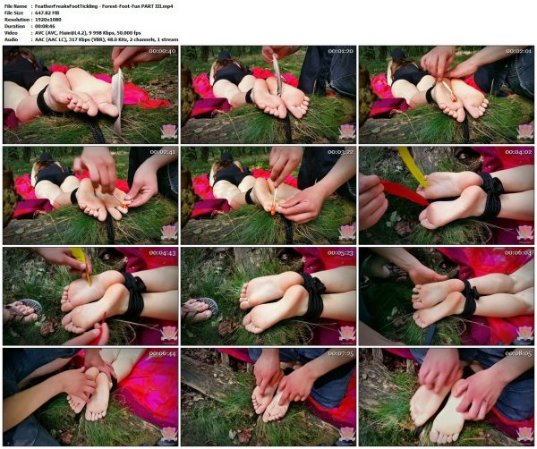 FeatherFreaksFootTickling - Forest-Foot-Fun PART IIIFeatherFreaksFootTickling VIP Clips