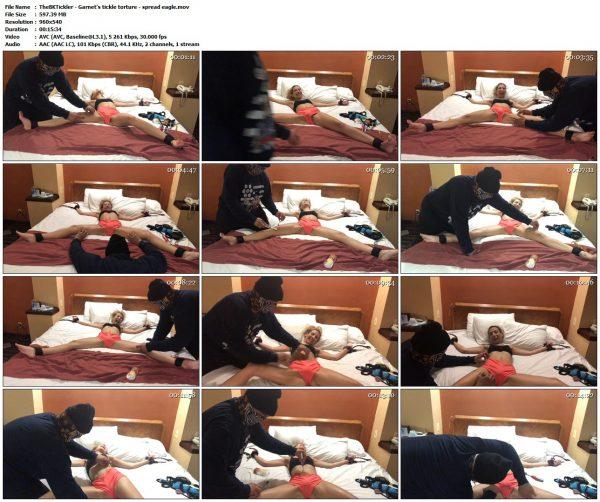 TheBKTickler - Garnet's tickle torture - spread eagleTheBKTickler VIP Clips