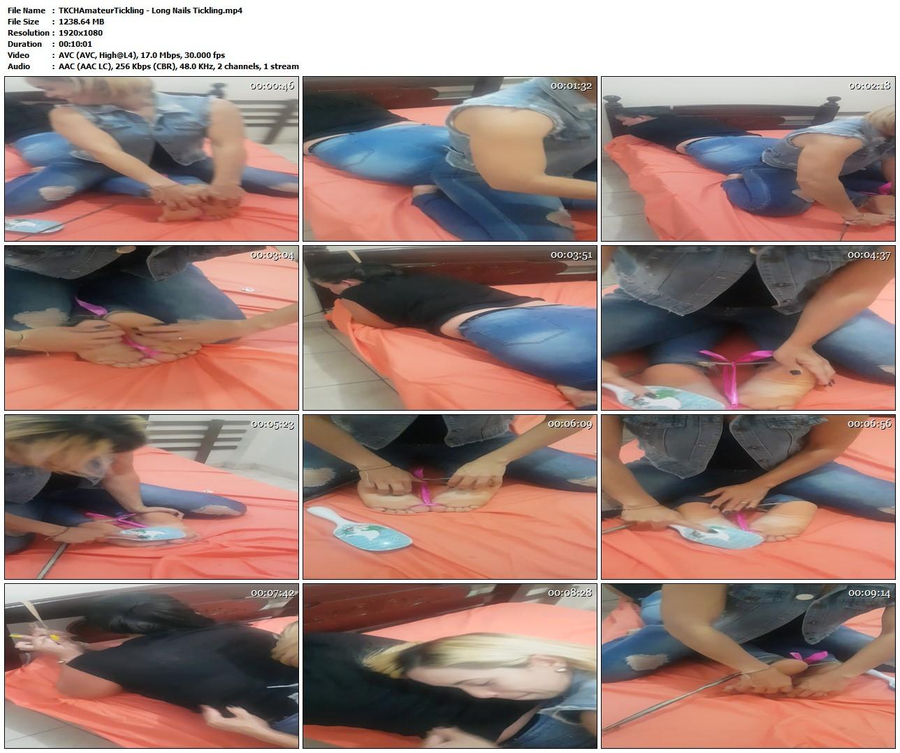 Lesbian Feet Tickle Torture